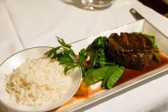 Etihad First Class Apartment Dinner