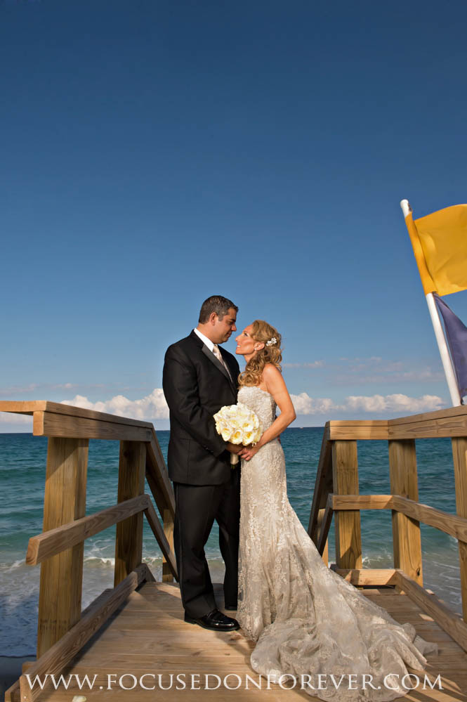 Wedding Anthony And Maria Married At Eau Hotel In Palm Beach FL Focused On Forever