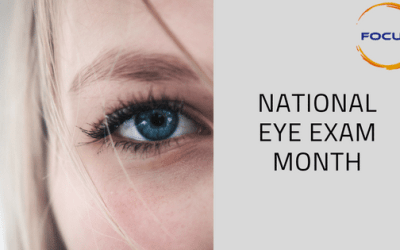 August: National Eye Exam Month