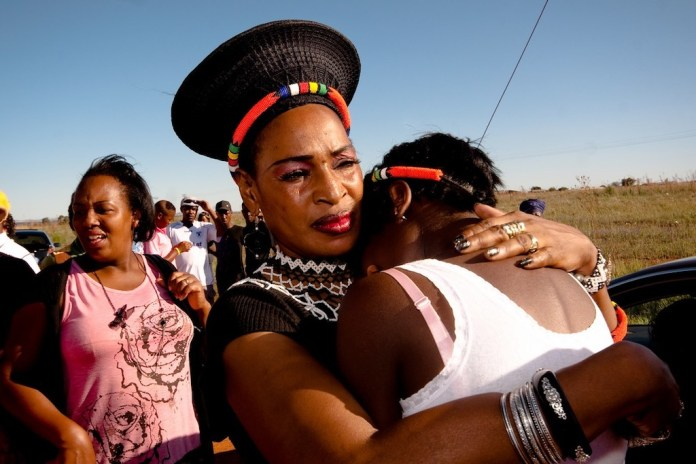 Bruiloft in Zuid-Afrika