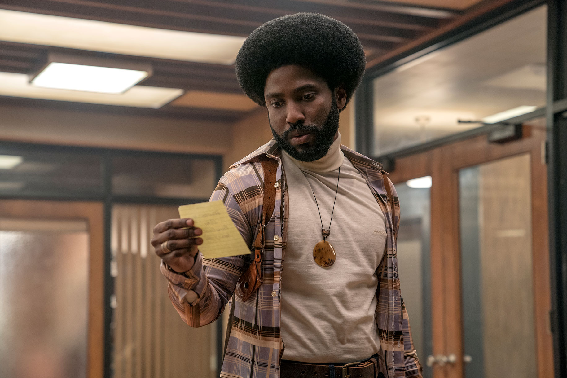 Image result for john david washington blackkklansman
