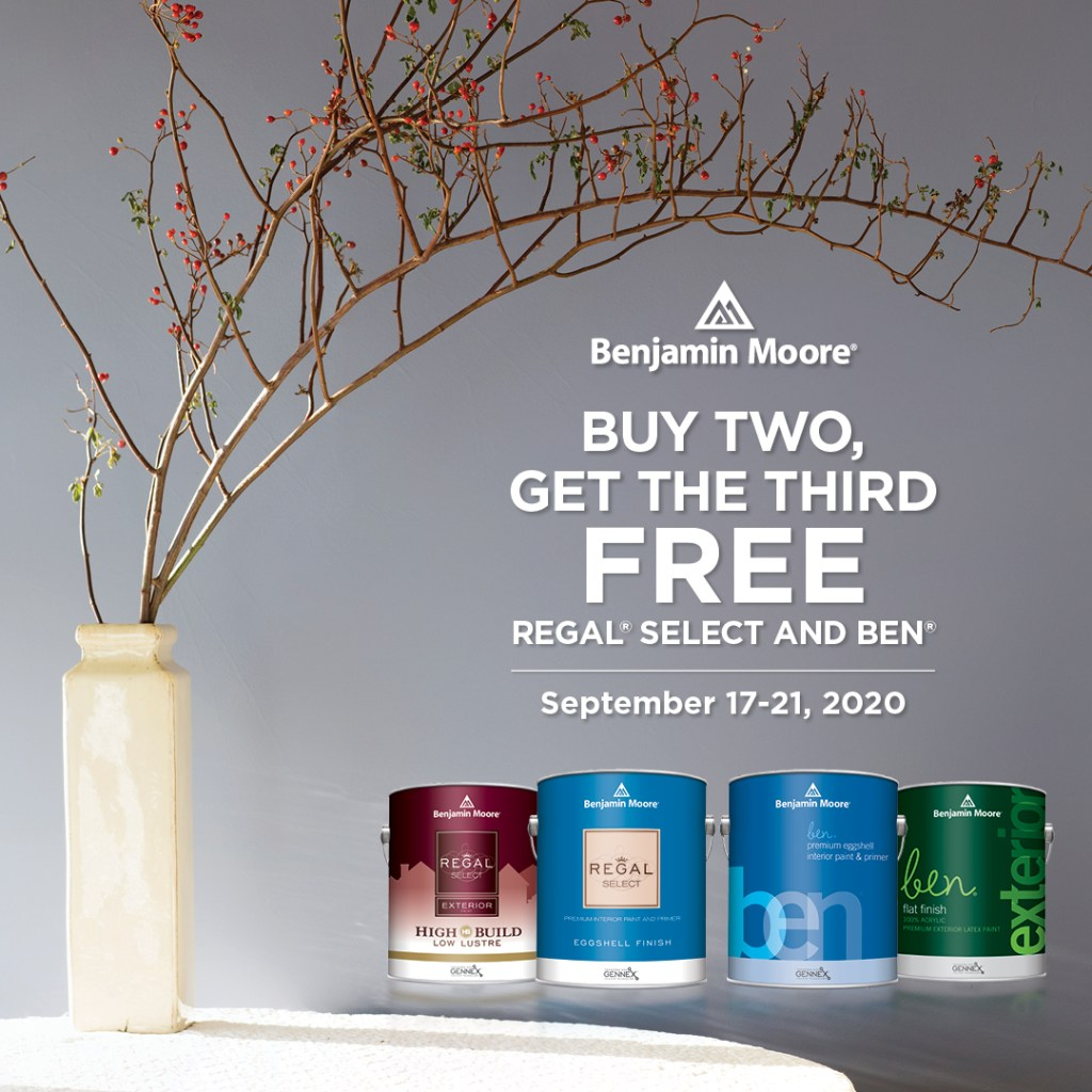 BUY TWO GET THE THIRD FREE