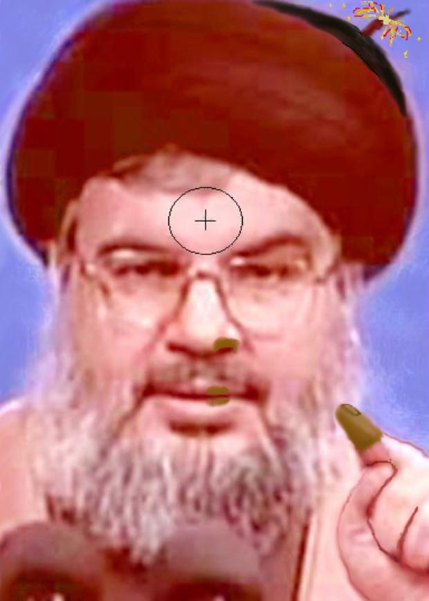 Il leader di Hezbollah Sayyed Hassan Nasrallah