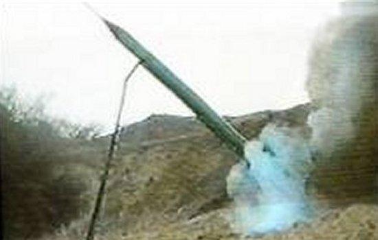Una rampa di lancio dei missili Katyuscia