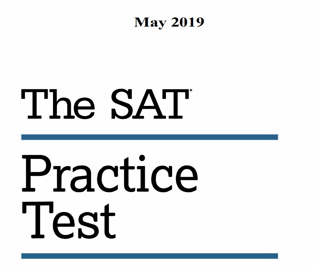 May 2019 SAT U.S. Test