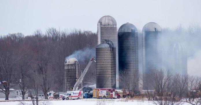 BREAKING NEWS – Barn Fire in Stratford | OnFocus