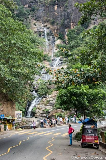 Ravana Falls near Ella, Sri Lanka
