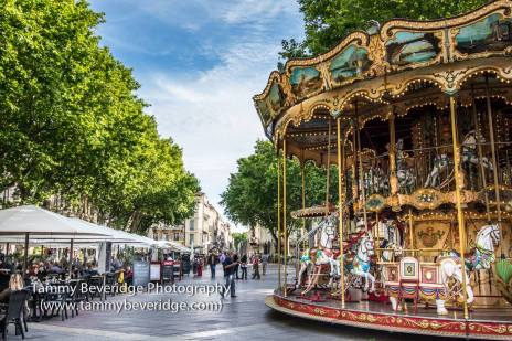 Carousel in Avignon. Photo by: Tammy Beveridge