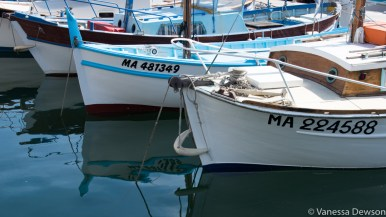 Boats in the old port of Marseille. Photo by: Vanessa Dewson