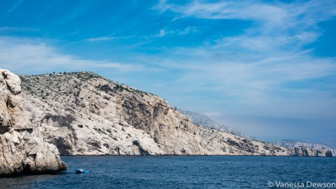 Fisherman along the coast. Photo by: Vanessa Dewson