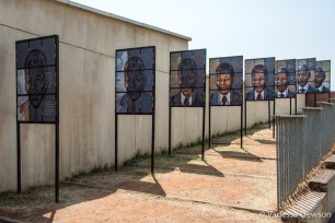 Portraits of Mandela over time