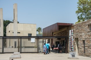 Entrance to the Apartheid Museum