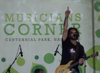 Bo Bice at Musicians Corner