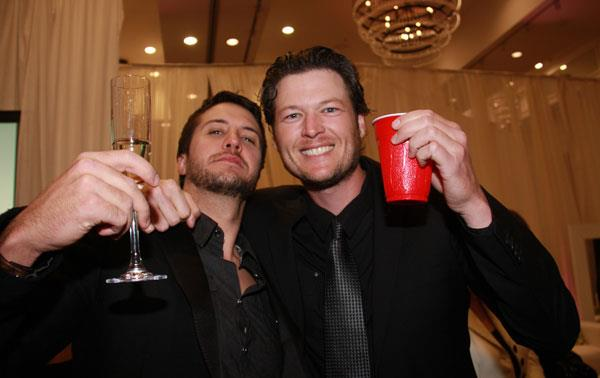 Luke Bryan, Blake Shelton, ACM Awards