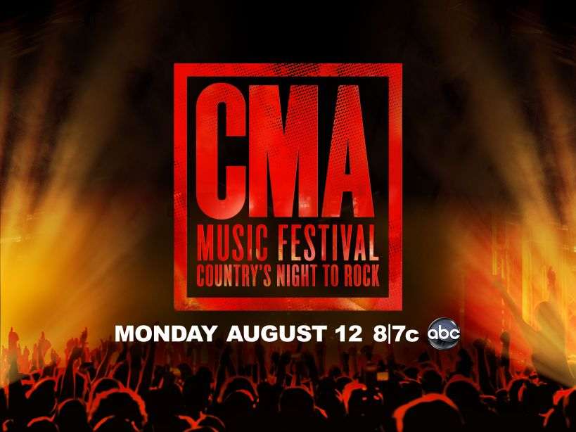 """Logo for the 2013 CMA Music Festival """"Country's Night to Rock"""" TV Special"""