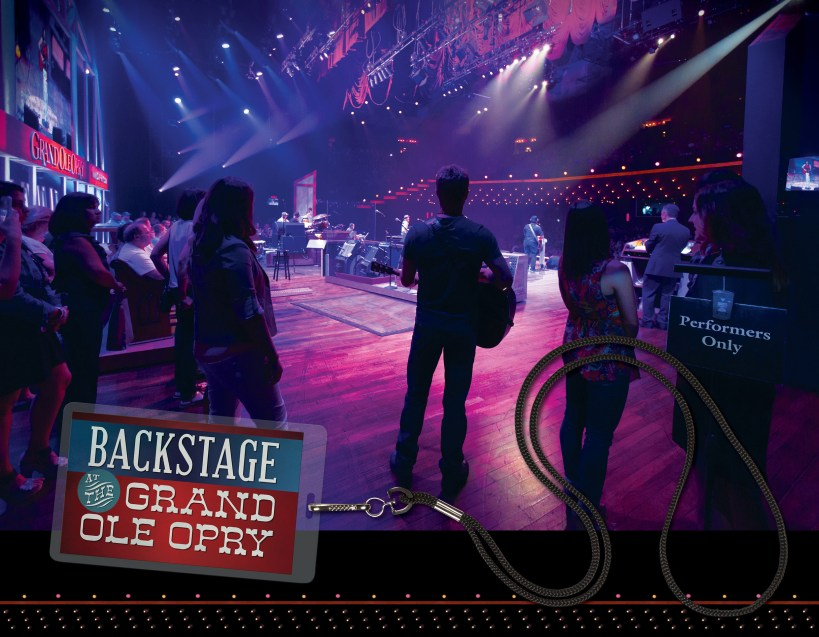 Backstage at the Grand Ole Opry book cover