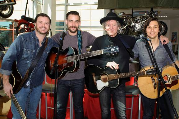 Pictured left to right: Wade Bowen, Robert Ellis, Rodney Crowell, Charlie Worsham
