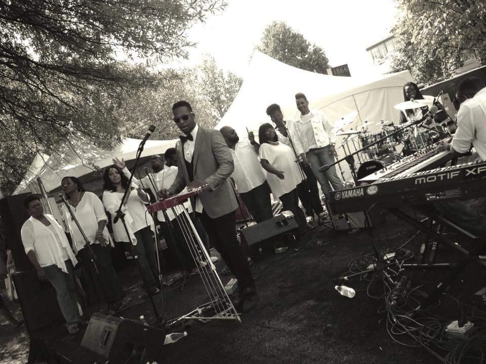 Robert Randolph performing during Gospel Brunch during festival. Photo credit: Jason Henke