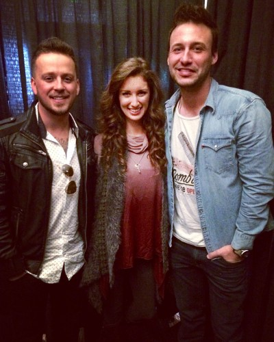 Eric Gunderson and Stephen Barker Liles of Love and Theft with Alanna Massey of Focus on the 615