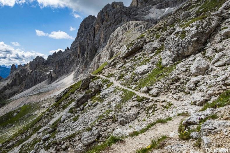 trekking passo delle zigolade