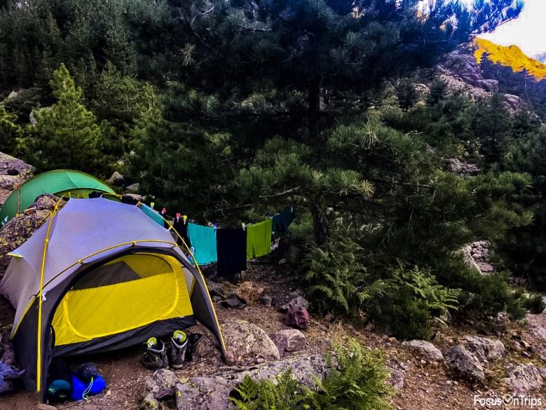 gr20 cosa portare tenda Salewa