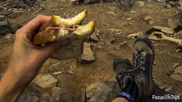 cosa mangiare montagna trekking
