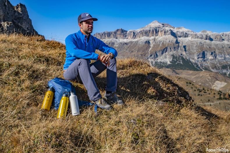 borraccia trekking Sigg gruppo Sella Dolomiti
