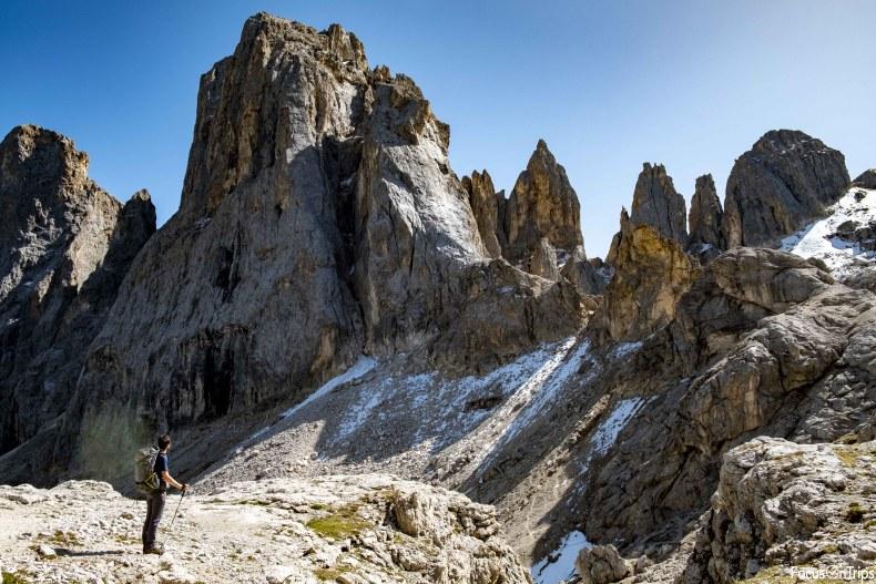 trekking rifugio Mulaz pale di San Martino