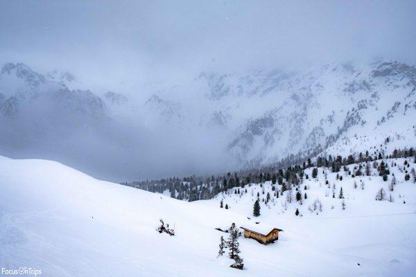 Escursione invernale al Rifugio Vallaccia da Pozza di Fassa