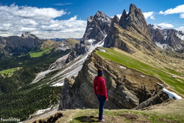 trekking seceda dolomiti