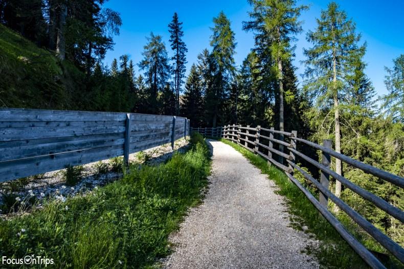sentiero Obereggen Latemar