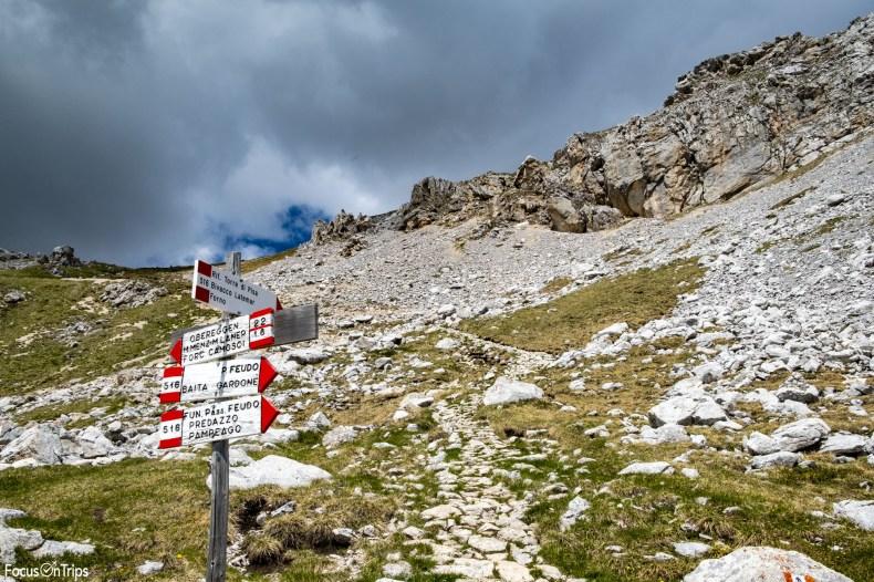 treking obereggen latemar