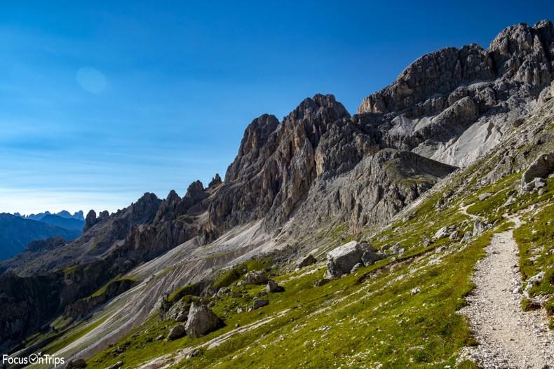 sentiero catinaccio trekking
