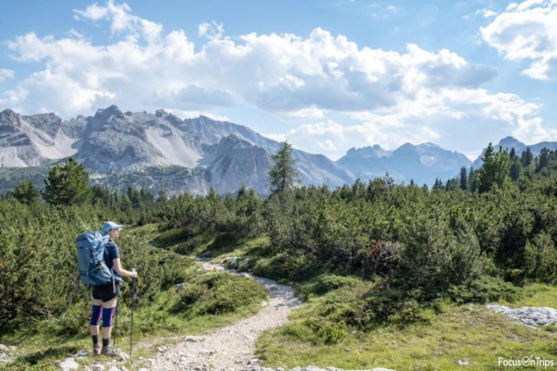 rifugio sennes fanes trekking