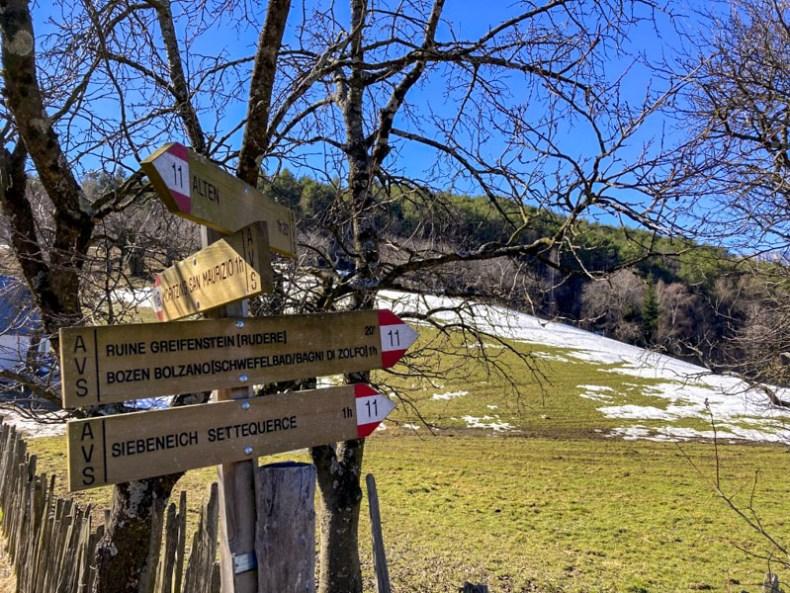 escursione bolzano greifenstein