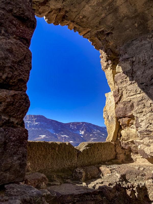 rovine castel greifenstein