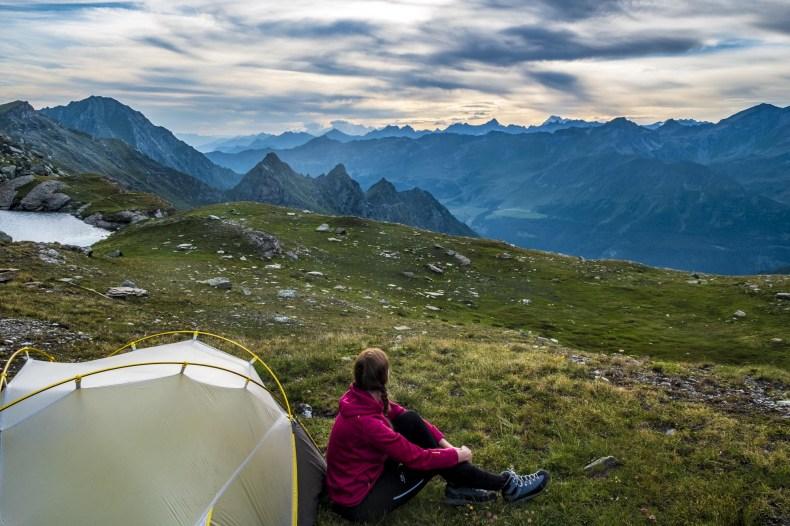 alta via 1 valle d'aosta tenda