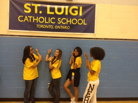 Focus on Youth staff at the Dovercourt St. Luigi's camp