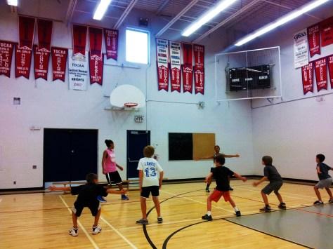 Elite members coaching younger members