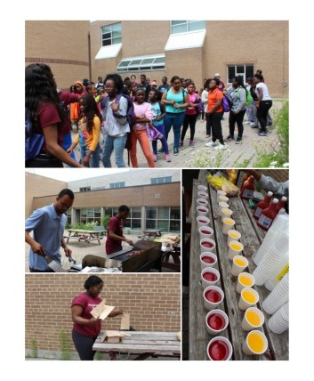 The Footstep to Success Barbecue held on July 9, 2015