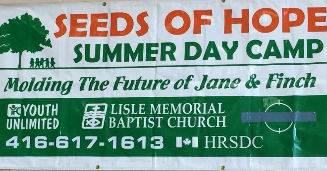 Youth Unlimited's Seeds of Hope Summer Camp logo