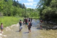 River walking