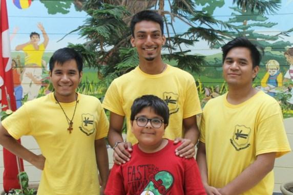 FOY Staff (L-R): Benjamin Leckay (Marshall), Roshan Mendoza (Libermann), & Alex Leckay (Marshall)