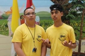 FOY Staff (L-R): Michael Zaragoza (Vanier) & Souren Hosip (Vanier)