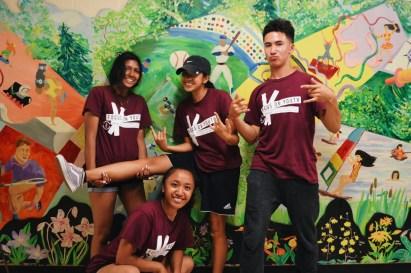 FOY Staff (L-R): Janice, Stephanie, Camille, Aleks