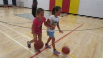 A cool dribbling technique