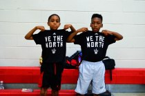Close friends reppin' the Toronto Raptors!