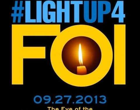 Light Up for FOI!