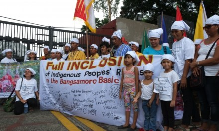 Groups reiterate call for full inclusion of their rights in the Bangsamoro Basic Law