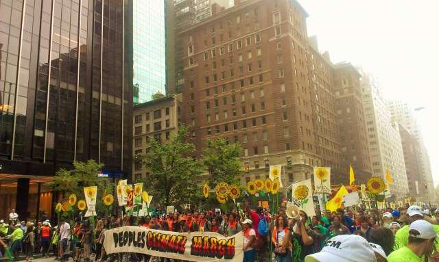 Demanding Climate Justice, Taking Action Now
